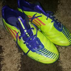 Ghete de fotbal adidas f50 - Ghete fotbal Adidas, Marime: 42 2/3, Culoare: Verde