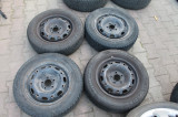 Roti vw polo skoda fabia anvelope cauciucuri iarna 165 70 R14 semperit 2011/14, 5, 100