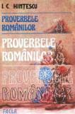 Proverbele Romanilor - Autor(i): I. C. Hintescu