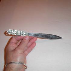 Cutit de desfacut scrisori argint 830 -Norvegia-Magnus Aase, Desfacator