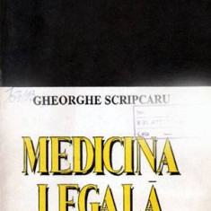 Medicina legala - Autor(i): Gheorghe Scripcaru - Carte Drept administrativ