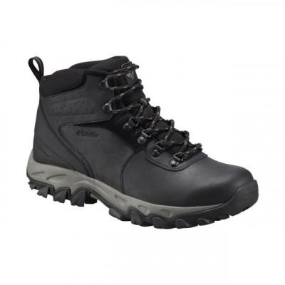 62a984e9bef2e6 Ghete de iarna pentru barbati Columbia Newton Ridge Plus II Waterproof  Black Grey (CLM-1594731-GRE)