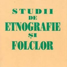 Studii de etnografie si folclor - Autor(i): Petru Caraman - Carte traditii populare