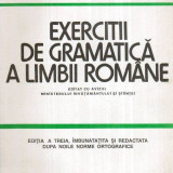Exercitii de gramatica a limbii romane - Autor(i): Cristina Ionescu, Matei Cerkez