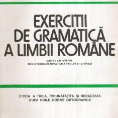 Exercitii de gramatica a limbii romane - Autor(i): Cristina Ionescu, Matei Cerkez - Carte traditii populare