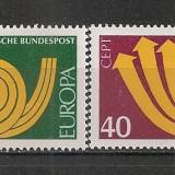 Germania.1973 EUROPA SG.325 - Timbre straine, Nestampilat