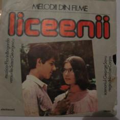 Declaratie de dragoste / Liceeenii  / disc vinil / coloana sonora filme, electrecord