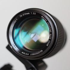 Obiectiv Vivitar Series 1 70-210mm f 3.5 (montura Olympus OM) - Obiectiv DSLR Vivitar, Macro (1:1)