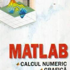 Matlab. Calcul numeric: grafica, aplicatii - Autor(i): Marin Ghinea, Virgiliu Fireteanu - Carte baze de date