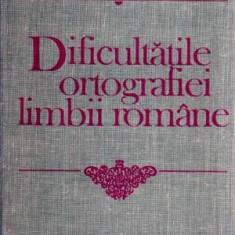 Dificultatile ortografiei limbii romane - Autor(i): Flora Suteu