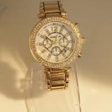 Ceas Dama Michael Kors Gold Silver Edition Elegant  + Cutie cadou