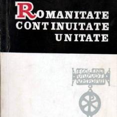 Romanitate, continuitate, unitate - Autor(i): Antonie Plamadeala - Carte traditii populare