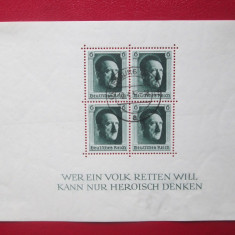 TIMBRE GERMANIA-1937 ADOLF HITLER, Nestampilat