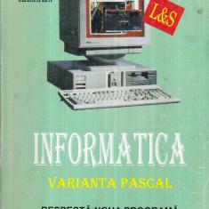 Informatica - Manual pentru clasa a IX-a - Profilul Matematica - Informatica - Carte baze de date