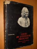 COURS DE LITTERATURE FRANCAISE ( DIX HUITIEME SIECLE ) VOL 1 - VALENTIN LIPATTI