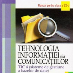Tehnologia informatiei si a comunicatiilor - TIC 4 (sisteme de gestiune a - Carte baze de date