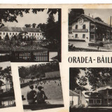 "CPI (B7503) CARTE POSTALA - ORADEA. BAILE ""1 MAI"", MOZAIC, 1961, RPR - Carte Postala Crisana dupa 1918, Circulata, Fotografie"