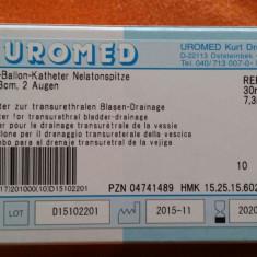 Sonda urinara din silicon,  marimea 22, balon de 30 ml - Germania