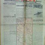 Viata 11 octombrie 1941 Paulescu caricatura Nistru evrei Derlogea Transnistria - Ziar