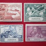 TIMBRE ANGLIA/COLONII-JAMAICA SERIE NEUZATA, Nestampilat