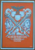 Carte postala nazista cromolitografiata , Munchen , 1939