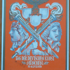 Carte postala nazista cromolitografiata, Munchen, 1939