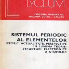 Sistemul periodic al elementelor - Istoric, actualitate, perspecticve in lumea teoriei structurii - Carte Chimie