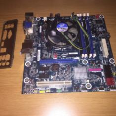 Placa de baza Intel DH55TC cu procesor Intel Core i3 540 3.06Ghz, Pentru INTEL, Socket: 1156, DDR 3, Contine procesor, MicroATX