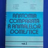 E. PASTEA - ANATOMIA COMPARATA A ANIMALELOR DOMESTICE * VOL.1 -1985 (SUBLINIERI)