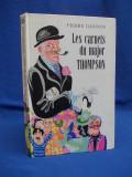 PIERRE DANINOS - CARNETELE MAIORULUI THOMPSON * ILUSTRATII -1976 (IN FRANCEZA)