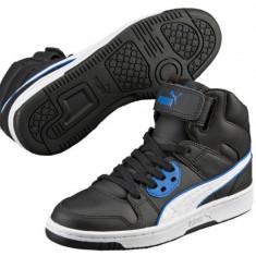 Adidasi Puma Rebound Street L Junior-Adidasi Originali-Ghete Piele - Ghete copii Puma, Marime: 35.5, Culoare: Din imagine, Baieti, Piele naturala