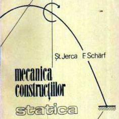 Mecanica constructiilor - Statica - Autor(i): colectiv - Carti Constructii