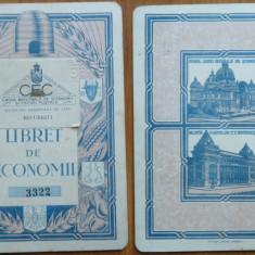 Libret de Economii , Alexandru Stefanopol , inginer , 1938 , impecabil
