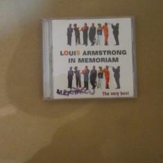 Cd louis armstrong - Muzica Jazz Altele