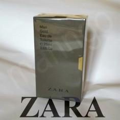 Parfum ZARA Man GOLD barbati 75 ml elegant pentru sezon rece gen paco code NOU ! - Parfum barbati Zara, Apa de toaleta