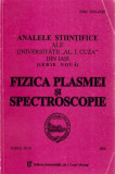 Fizica plasmei si spectroscopie