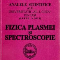 Fizica plasmei si spectroscopie - Carte Fizica