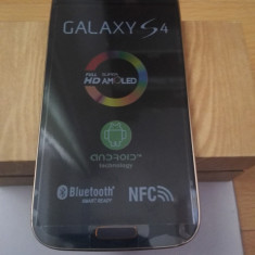 Samsung Galaxy S4 i9500 negru original in cutie - Telefon mobil Samsung Galaxy S4, 16GB, Neblocat, Single SIM