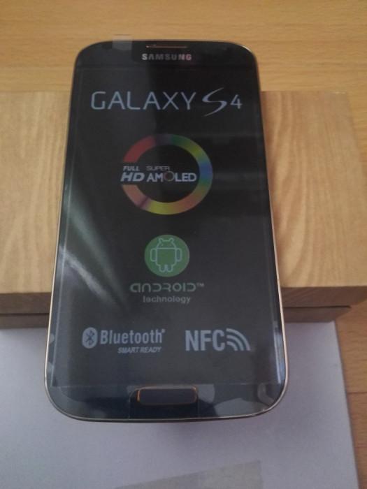 Samsung Galaxy S4 i9500 negru original in cutie foto mare