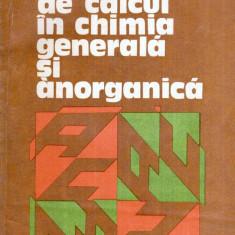 Aplicatii de calcul in chimia generala si anorganica - Autor(i): V.T. Marculetiu, - Carte Chimie