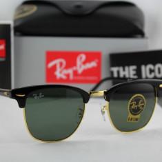 RAY BAN 3016 CLUBMASTER W0365, 100% Originali !!! POZE REALE !!! - Ochelari de soare Ray Ban