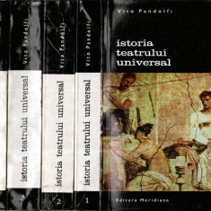 Istoria teatrului universal vol.I-II-III-IV - Autor(i): Vito Pandolfi - Carte Arta muzicala