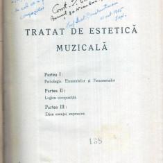 Tratat de estetica muzicala - Autor(i): Dimitrie Cuclin - Carte Arta muzicala