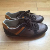 Pantofi casual/Adidasi Geox 42 - Pantof barbat Geox, Culoare: Maro