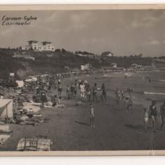 CPI (B7547) CARTE POSTALA - CARMEN SYLVA. PLAJA CAZINOULUI, 1939