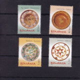 ROMANIA 2007, LP 1774, CERAMICA III FARFURII TARANESTI SERIE MNH - Timbre Romania, Nestampilat