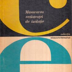 Masurarea rezistentei de izolatie - Autor(i): V. Constantinescu