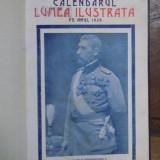 Calendarul Lumea Ilustrata pe anul 1928 - Carte veche