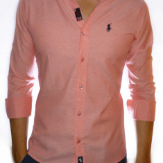 Camasa Polo by Ralph Lauren - camasa slim fit camasa ralph camasa roz cod 11 - Camasa barbati Polo By Ralph Lauren, Marime: XL, Culoare: Din imagine, Maneca lunga