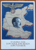 CP nazista cromolitografiata , O Natiune , un Imperiu , un Fuhrer , Martie 1938